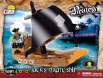 Pirates - Bateau de Pirates Jack - 140 pcs , 1 figurine