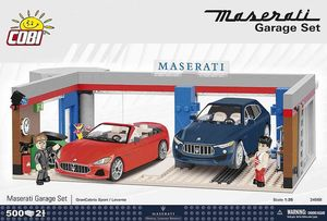 MASERATI Garage Set - 500 pièces - 2 figurines