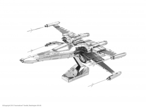 Star Wars 7 - Poe Dameron's X-wing Fighter Metal Earth