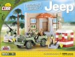 Jeep Willys Barrage au Chekpoint