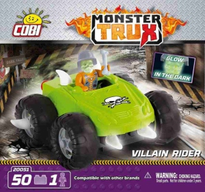 Monster Trux Vilain pilote