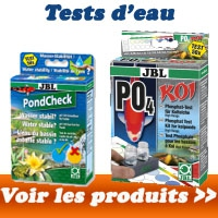 Tests d'eau Bassin