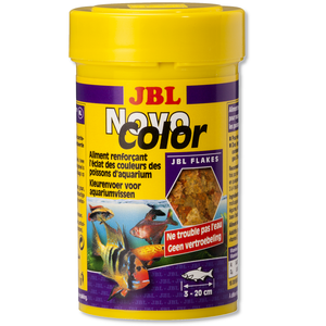 JBL NovoColor 250ml - Aliment poissons