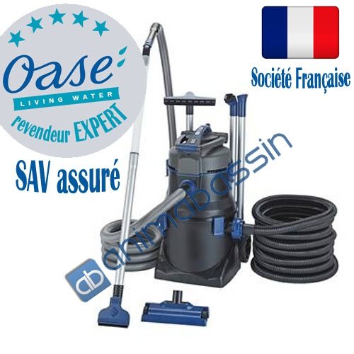 Aspirateur bassin oase pondovac 5 animabassin for Aspirateur bassin