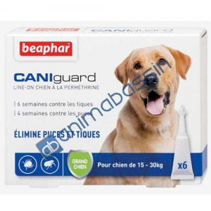 Pipettes Grand Chien Beaphar Caniguard
