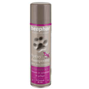 Shampoing sec chien chat - 250 ml