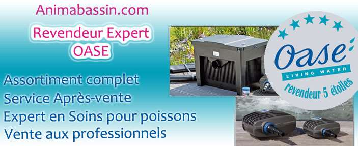 Animabassin boutique en ligne discount pour le bassin de for Boutique aquariophilie