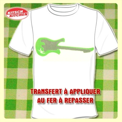 Transfert pour T-Shirt Kitsch Kitchen