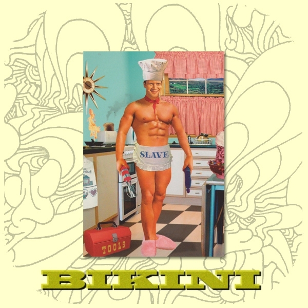Carte postale BIKINI - Kitchen slave