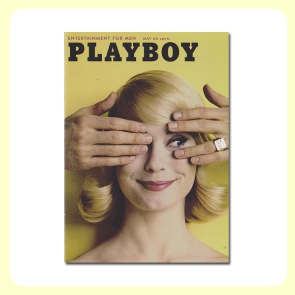 Carte postale dépliante PLAYBOY - May Blonde