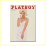 Carte postale dépliante PLAYBOY - White dress