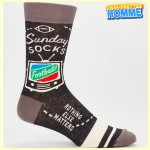 Chaussettes homme BlueQ - Sunday socks - Football - Nothing else matters - Go for it*