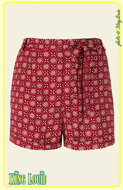 Short COCOLUPA - Coloris Icon Red Taille 42