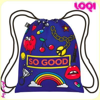 Sac à dos LOQI - Motif POP SO GOOD