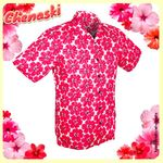 Chemisette coton - Motif POWER OF PINK
