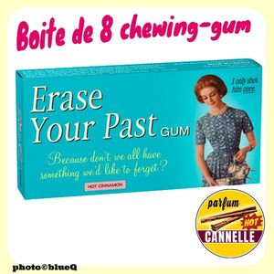 Chewing-gums Goût Cannelle HOT - ERASE YOUR PAST*