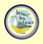 Badge ou Aimant - Kenav' les caves