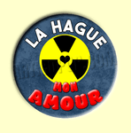 Badge ou Aimant - La Hague mon amour