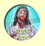 Badge ou Aimant - Brains for Jesus