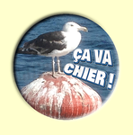 Badge ou Aimant - Ça va chier !
