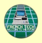 Badge ou Aimant 634 - French Tech - Welcome to the future