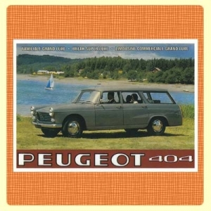 Carte postale -Peugeot404Break