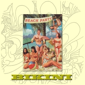 Carte postale BIKINI - Beach Party