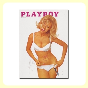 Carte postale dépliante PLAYBOY - July '64