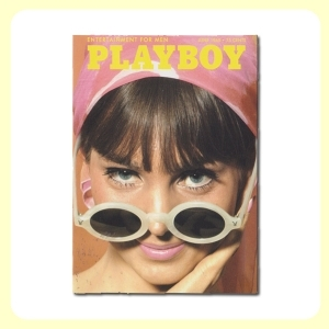 Carte postale dépliante PLAYBOY - June '65