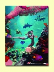 Poster BIKINI - Lovers under the sea