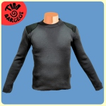 Pull marin avec empiècements Tim Bargeot - Coloris Anthracite
