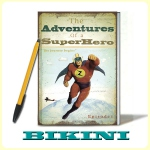 "Cahier ""The Adventures of a SuperHero""*"