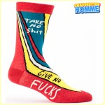 Chaussettes homme BlueQ - Take no shit - Give no fucks*