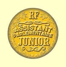 Badge ou Aimant - Assistant Parlementaire Junior
