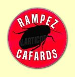 Badge ou Aimant - Rampez cafards