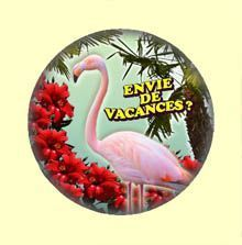 Badge ou Aimant - Envie de vacances