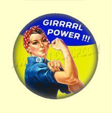 Badge ou Aimant - GIRRRRL POWER !