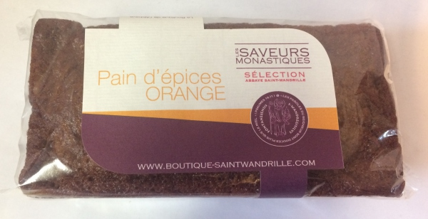 Pain d'épices à l'orange