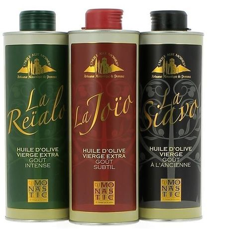 Huile d'Olive pack 3 flacons