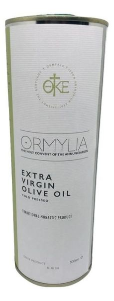 Huile d'Olive Extra Vierge - Pression à froid Ormylia-50 cl