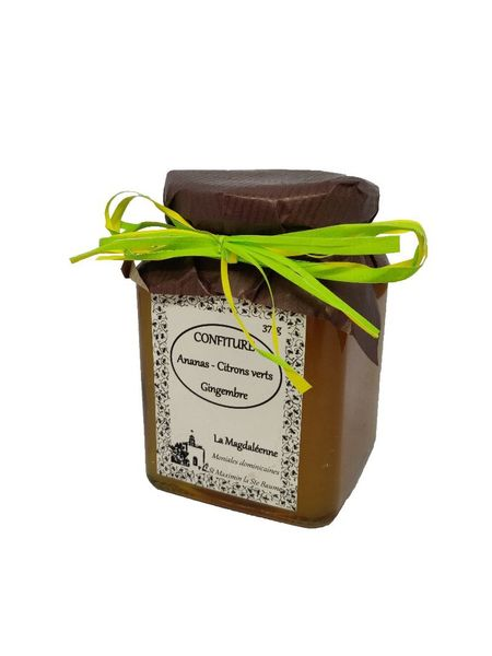 Confiture Ananas Citrons verts Gingembre
