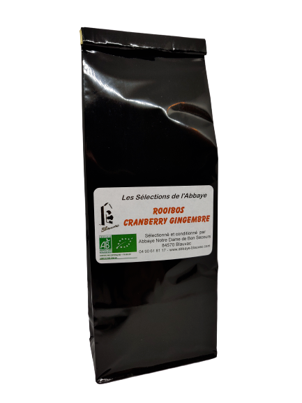 Thé Rooibos Cranberry gingembre