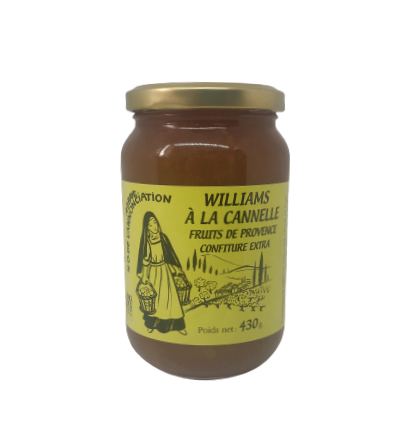 Confiture Williams Cannelle