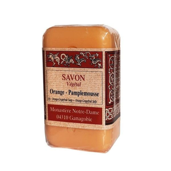 Savon à l'ancienne Orange Pamplemousse - 150g