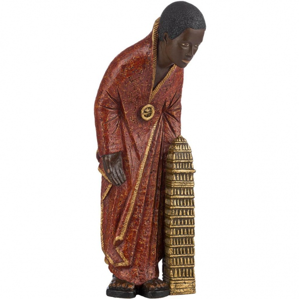 Mage africain - Melchior - Robe Rouge