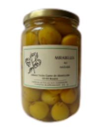 Mirabelles au naturel