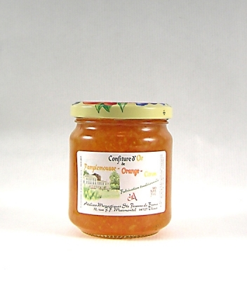 Confiture d'Or de Pamplemousse-Orange-Citron