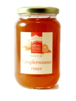 Confiture de pamplemousse rose
