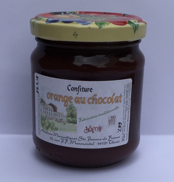 Confiture à l'Orange et au Chocolat