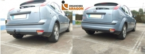 Attelage ENGANCHES ARAGON pour Ford Focus II 3/5 portes